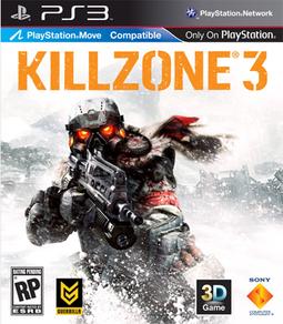 Killzone 3 box art