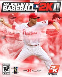 Major League Baseball 2K11 box art