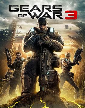 Gears of War 3 box art