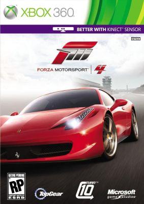 Forza Motorsport 4 box art