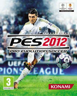 Pro Evolution Soccer 2012 box art