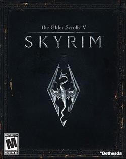Elder Scrolls V: Skyrim box art