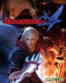 Devil May Cry 4 box art