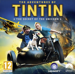 Adventures of Tintin box art