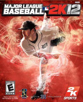Major League Baseball 2K12 box art