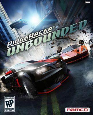 Ridge Racer Unbounded box art