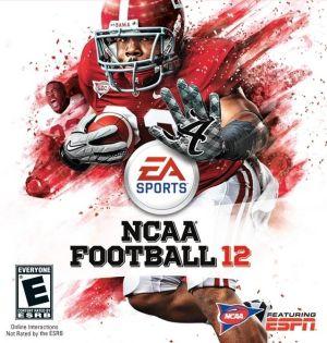 NCAA Football 12 box art