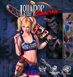 Lollipop Chainsaw box art