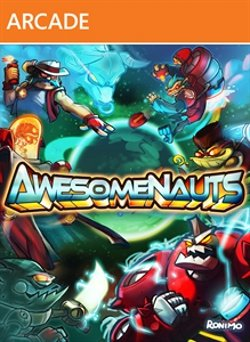 Awesomenauts box art