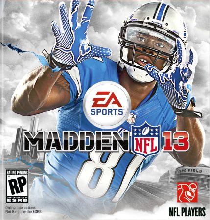 Madden NFL 13 box art