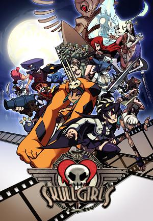 Skullgirls box art