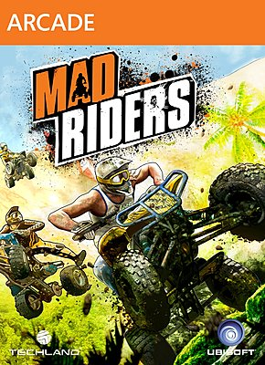 Mad Riders box art