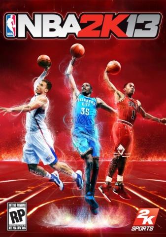 NBA 2K13 box art