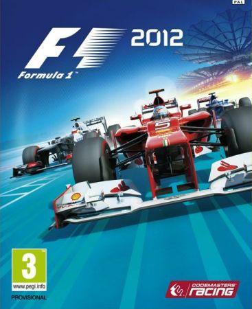 F1 2012 box art