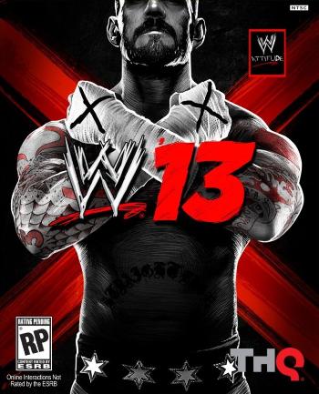 WWE 13 box art