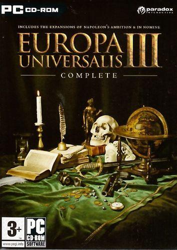 Europa Universalis 3 box art