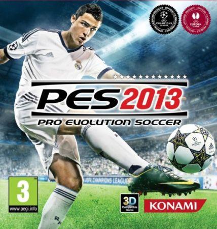 Pro Evolution Soccer 2013 box art