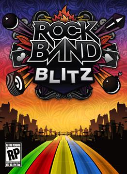Rock Band Blitz box art