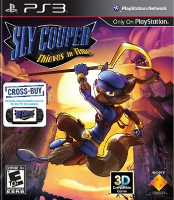 Sly Cooper: Thieves in Time box art