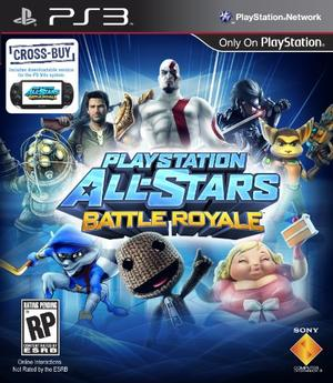 PlayStation All-Stars box art