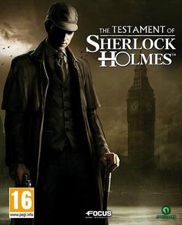 Testament of Sherlock Holmes box art