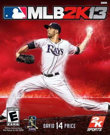 Major League Baseball 2K13 box art