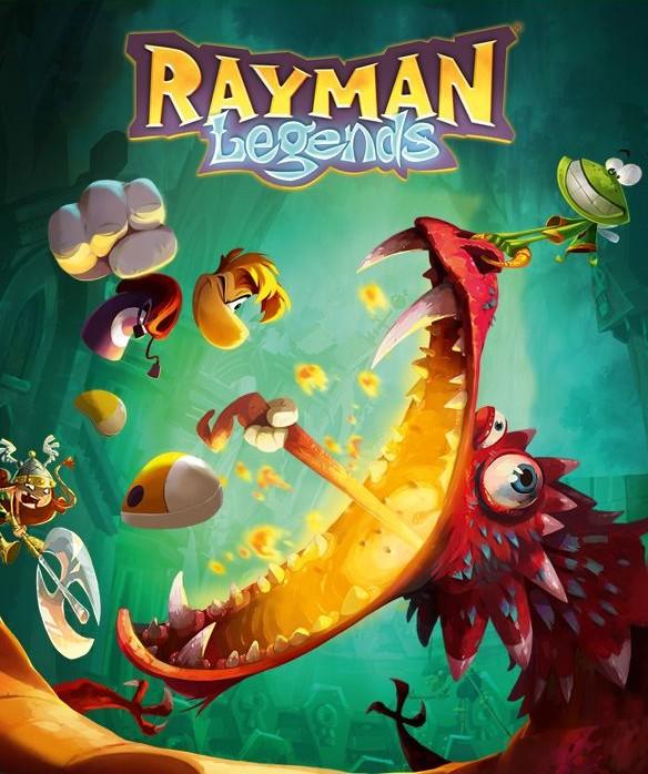 Rayman Legends box art