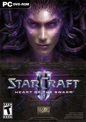 StarCraft 2: Heart of the Swarm box art
