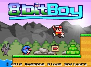 8-Bit Boy box art