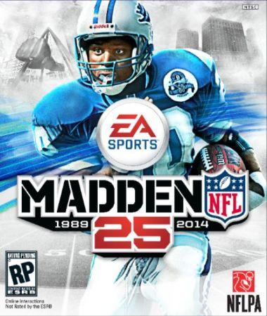 Madden NFL 25 box art