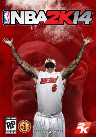 NBA 2K14 box art