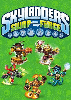 Skylanders SWAP Force box art