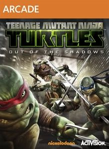 TMNT: Out of the Shadows box art
