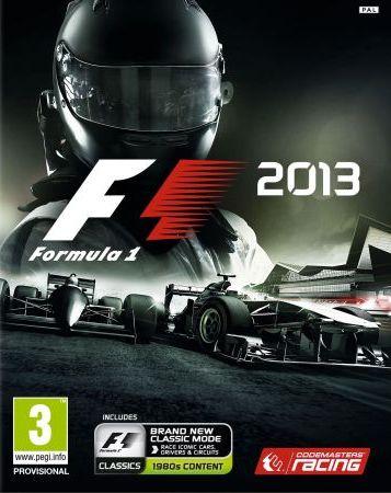 F1 2013 box art