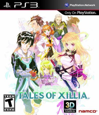 Tales of Xillia box art