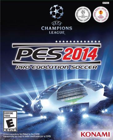 Pro Evolution Soccer 2014 box art