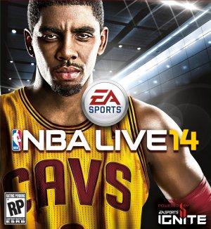 NBA Live 14 box art