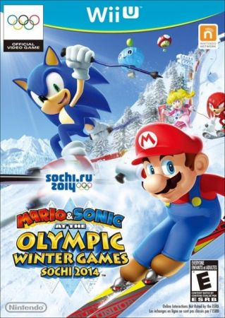 Mario & Sonic at Sochi 2014 box art
