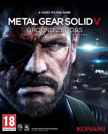 Metal Gear Solid 5: Ground Zeroes box art