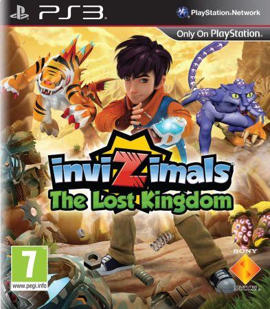 Invizimals: The Lost Kingdom box art