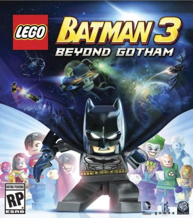 Lego Batman 3: Beyond Gotham box art