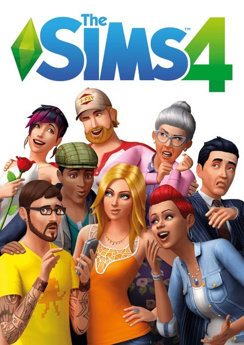 Sims 4 box art
