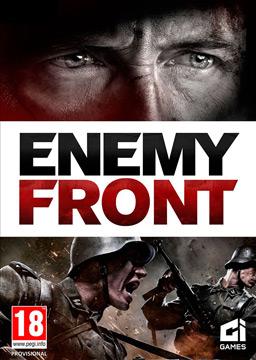 Enemy Front box art