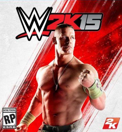 WWE 2K15 box art