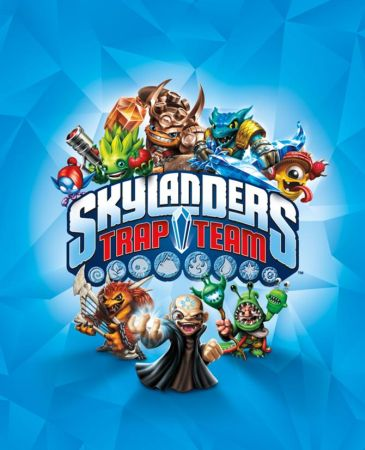 Skylanders Trap Team box art