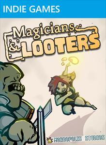 Magicians & Looters box art