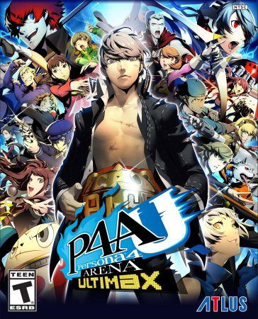 Persona 4 Arena Ultimax box art