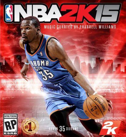 NBA 2K15 box art