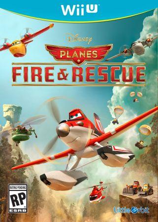 Disney Planes: Fire & Rescue box art