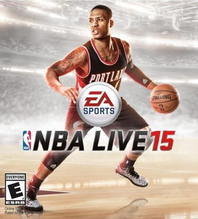 NBA Live 15 box art